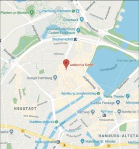 webconia location